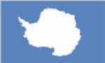 Antarctica Large Country Flag - 5' x 3'.
